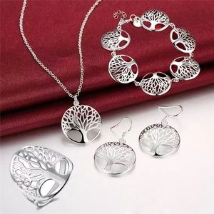 Jewelry - 925 sterling silver jewelry set